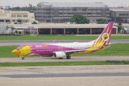 かずまっくすさんが、ドンムアン空港で撮影したノックエア 737-86Nの航空フォト(飛行機 写真・画像)