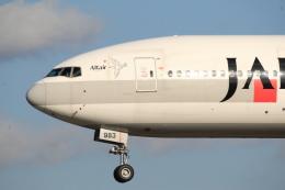 Love Airbus350さんが、福岡空港で撮影した日本航空 777-246の航空フォト(飛行機 写真・画像)