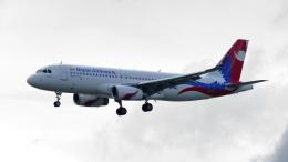 誘喜さんが、香港国際空港で撮影したネパール航空 A320-233の航空フォト(飛行機 写真・画像)