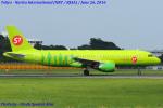 Chofu Spotter Ariaさんが、成田国際空港で撮影したS7航空 A320-214の航空フォト(写真)
