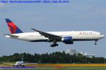 Chofu Spotter Ariaさんが、成田国際空港で撮影したデルタ航空 777-232/LRの航空フォト(飛行機 写真・画像)