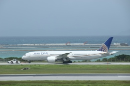 takluftさんが、那覇空港で撮影したユナイテッド航空 787-9の航空フォト(飛行機 写真・画像)