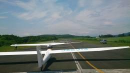 本田伝説さんが、スカイポートきたみで撮影した日本個人所有 B4-PC11AFの航空フォト(飛行機 写真・画像)