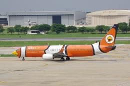 航空フォト:HS-DBH ノックエア 737-800