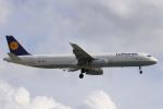 安芸あすかさんが、ロンドン・ヒースロー空港で撮影したルフトハンザドイツ航空 A321-131の航空フォト(飛行機 写真・画像)