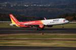 kumagorouさんが、福島空港で撮影したベトジェットエア A321-211の航空フォト(飛行機 写真・画像)