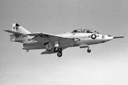 apphgさんが、厚木飛行場で撮影したアメリカ海兵隊 F9F Pantherの航空フォト(飛行機 写真・画像)
