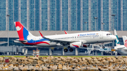 2wmさんが、香港国際空港で撮影したネパール航空 A320-233の航空フォト(飛行機 写真・画像)
