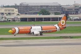 かずまっくすさんが、ドンムアン空港で撮影したノックエア 737-83Nの航空フォト(飛行機 写真・画像)