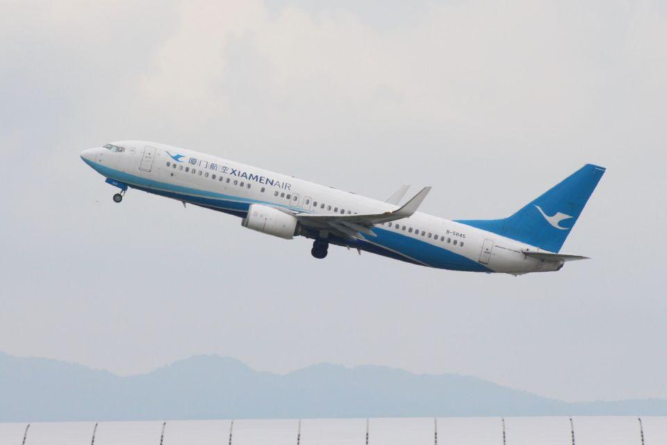 山河 彩さんの厦門航空 Boeing 737-800 (B-5845) 航空フォト