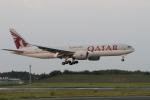 気分屋さんが、成田国際空港で撮影したカタール航空 777-2DZ/LRの航空フォト(写真)