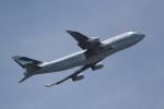ANA744Foreverさんが、羽田空港で撮影したキャセイパシフィック航空 747-467の航空フォト(飛行機 写真・画像)