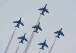 じーく。さんが、横浜ヘリポートで撮影した航空自衛隊 T-4の航空フォト(飛行機 写真・画像)