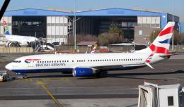 なごやんさんが、O・R・タンボ国際空港で撮影したコムエアー 737-85Rの航空フォト(飛行機 写真・画像)
