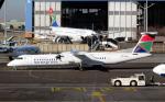 なごやんさんが、O・R・タンボ国際空港で撮影したサウス・アフリカン・エクスプレス DHC-8-402Q Dash 8の航空フォト(写真)