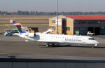 なごやんさんが、O・R・タンボ国際空港で撮影したサウス・アフリカン・エクスプレス CL-600-2C10 Regional Jet CRJ-701の航空フォト(写真)