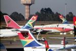 なごやんさんが、O・R・タンボ国際空港で撮影したTAAGアンゴラ航空 747-312の航空フォト(写真)