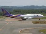 アイスコーヒーさんが、新千歳空港で撮影したタイ国際航空 747-4D7の航空フォト(飛行機 写真・画像)