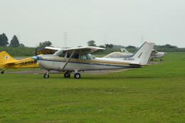 tsubasa0624さんが、大利根飛行場で撮影した日本モーターグライダークラブ 172P Skyhawk IIの航空フォト(飛行機 写真・画像)