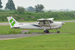 tsubasa0624さんが、大利根飛行場で撮影した日本個人所有 172R Skyhawkの航空フォト(飛行機 写真・画像)