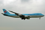 tsubasa0624さんが、成田国際空港で撮影した大韓航空 747-8HTFの航空フォト(飛行機 写真・画像)