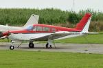 tsubasa0624さんが、大利根飛行場で撮影した日本フライングサービス PA-28R-200 Cherokee Arrowの航空フォト(飛行機 写真・画像)