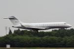 tsubasa0624さんが、成田国際空港で撮影したクレイ・レイシー・アヴィエーション BD-700-1A10 Global Expressの航空フォト(写真)