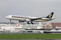 ころちゃんさんが、福岡空港で撮影したシンガポール航空 A330-343Xの航空フォト(飛行機 写真・画像)