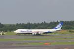 Automarkさんが、成田国際空港で撮影した日本貨物航空 747-8KZF/SCDの航空フォト(写真)