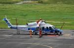 T.Sazenさんが、関西国際空港で撮影した海上保安庁 S-76Dの航空フォト(写真)