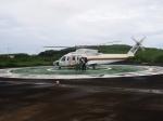 tokadaさんが、青ヶ島ヘリポートで撮影した東邦航空 S-76C+の航空フォト(写真)