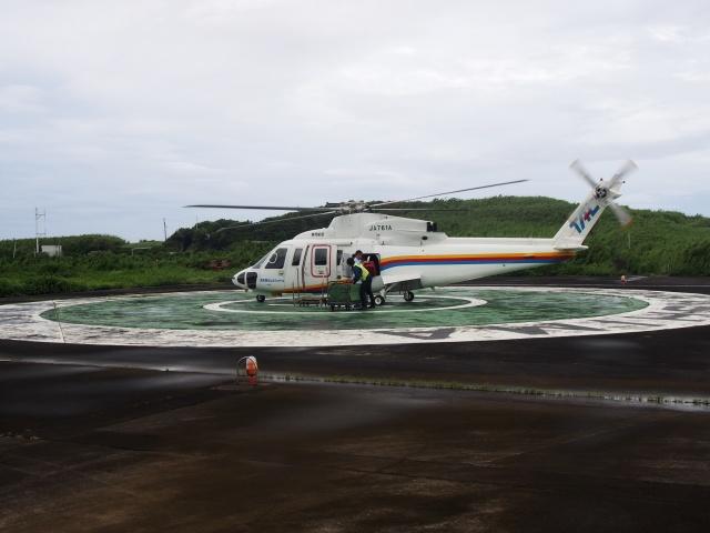 青ヶ島ヘリポート - Aogashima Heliportで撮影された青ヶ島ヘリポート - Aogashima Heliportの航空機写真(フォト・画像)