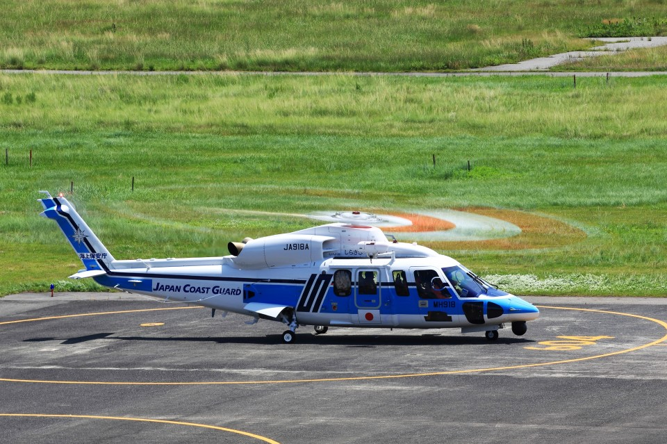 T.Sazenさんの海上保安庁 Sikorsky S-76 (JA918A) 航空フォト
