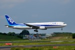 mojioさんが、成田国際空港で撮影したエアージャパン 767-381/ERの航空フォト(飛行機 写真・画像)