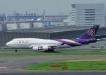 じーく。さんが、羽田空港で撮影したタイ国際航空 747-4D7の航空フォト(飛行機 写真・画像)