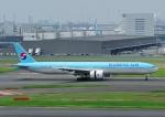 じーく。さんが、羽田空港で撮影した大韓航空 777-3B5/ERの航空フォト(飛行機 写真・画像)