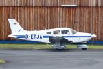 りんたろうさんが、フランクフルト・エーゲルスバッハ空港で撮影したDFS Fliegerclub PA-28-181 Archer IIの航空フォト(写真)