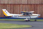 りんたろうさんが、フランクフルト・エーゲルスバッハ空港で撮影したHFC Hanseat. Fliegerclub 172R Skyhawkの航空フォト(写真)