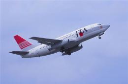 kumagorouさんが、石垣空港で撮影した日本トランスオーシャン航空 737-205/Advの航空フォト(飛行機 写真・画像)