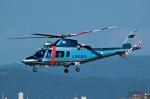 プリン賢さんが、名古屋飛行場で撮影した滋賀県警察 A109E Powerの航空フォト(写真)