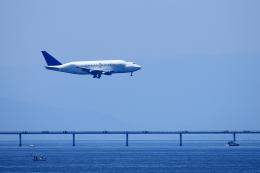 RUNDY!さんが、中部国際空港で撮影したボーイング 747-409(LCF) Dreamlifterの航空フォト(飛行機 写真・画像)