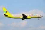 mojioさんが、成田国際空港で撮影したジンエアー 737-86Nの航空フォト(飛行機 写真・画像)