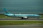 かみきりむしさんが、中部国際空港で撮影した大韓航空 737-9B5/ER の航空フォト(写真)