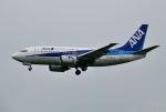 mojioさんが、成田国際空港で撮影したANAウイングス 737-5L9の航空フォト(飛行機 写真・画像)