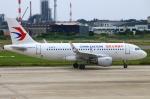 Kuuさんが、松山空港で撮影した中国東方航空 A319-115の航空フォト(飛行機 写真・画像)