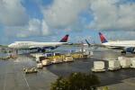 寛太さんが、ダニエル・K・イノウエ国際空港で撮影したデルタ航空 747-451の航空フォト(写真)