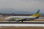 とらとらさんが、新千歳空港で撮影したAIR DO 737-54Kの航空フォト(飛行機 写真・画像)