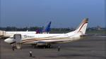 誘喜さんが、スカルノハッタ国際空港で撮影したエクスプレス・エア 737-36Nの航空フォト(写真)