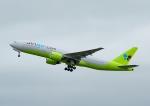 じーく。さんが、新千歳空港で撮影したジンエアー 777-2B5/ERの航空フォト(写真)