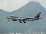 スカイマンタさんが、香港国際空港で撮影したカタール航空 A330-202の航空フォト(写真)